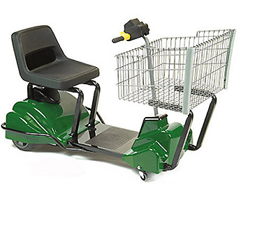 39 Green 39 Electric Shopping Cart Mobile Industries Inc Material Handling Tranport Lift And