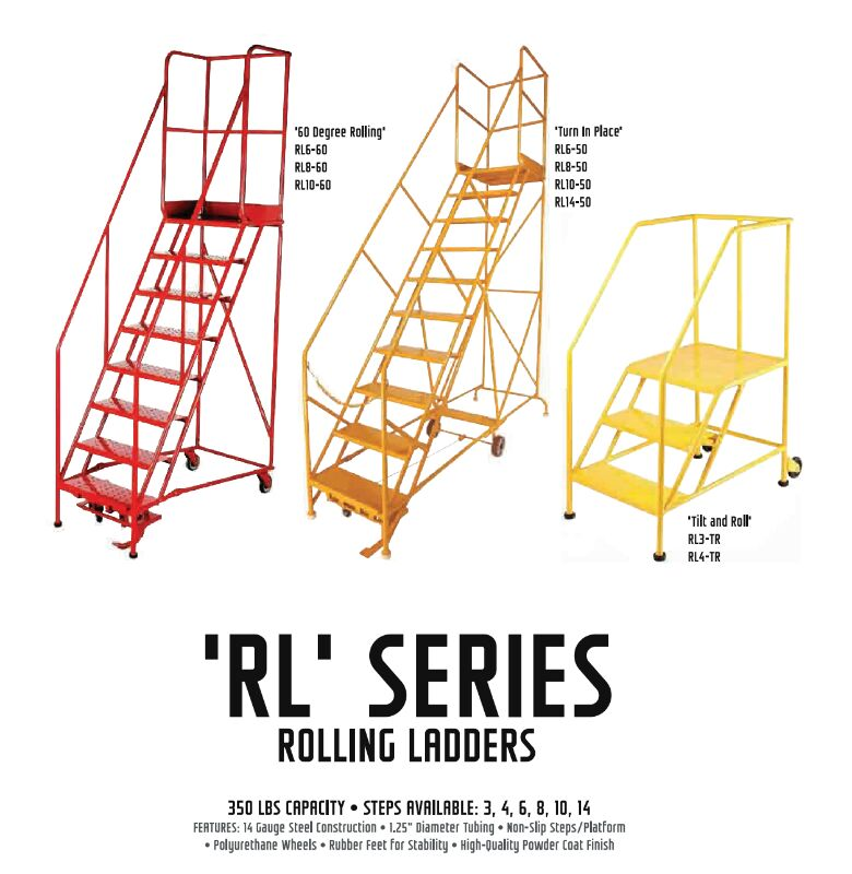 Rolling Ladder Highlights Mobile Industries Inc