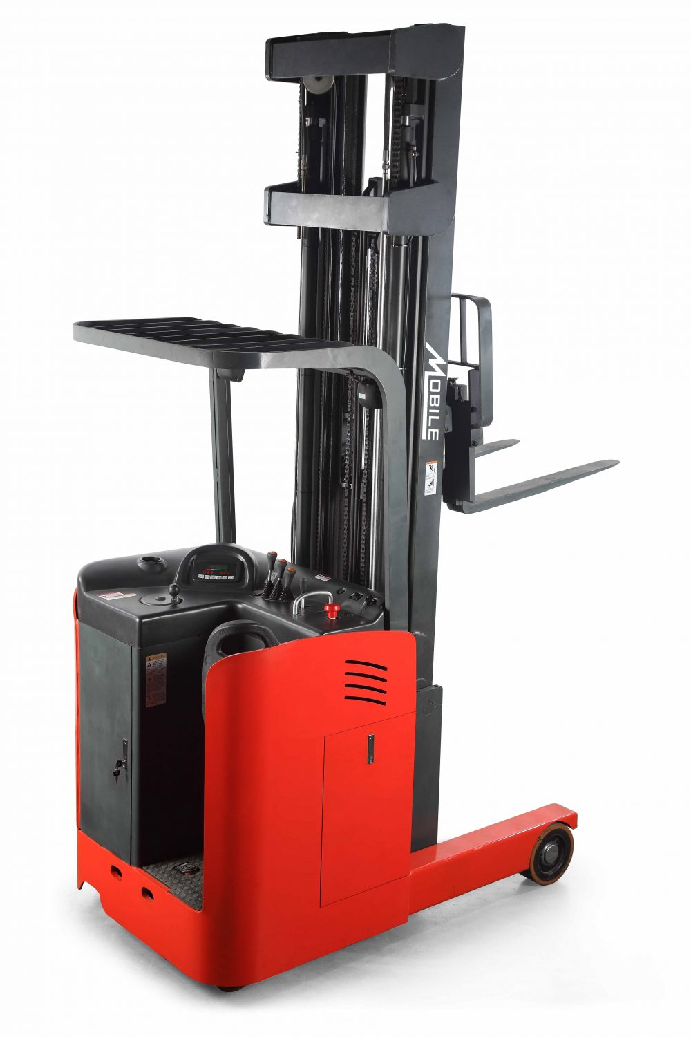 Rrs33n Ride On Reach Truck Stacker Mobile Industries Inc