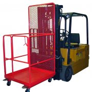 Safety Work Platform on Forklift