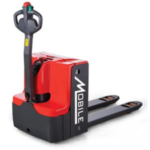 Powered Electric Long Handle Walkie Pallet Truck